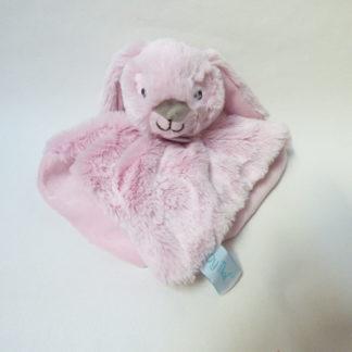 doudou lpin plat rose guimauve babynat